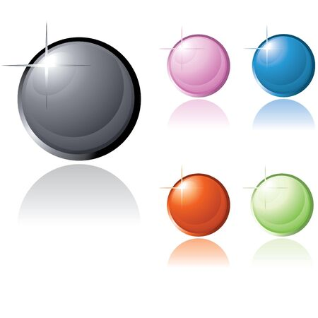 glossy icons for website and others Stock Photo - 7754828