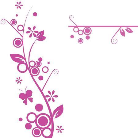 marco blanco y negro: patr�n floral para papel tapiz, plantillas y tarjeta de felicitaci�n