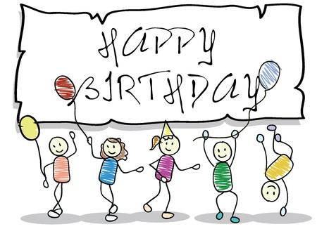 Cartoon Kinder von Jungen und Mädchen für Kinder, Spaß, Schule und andere