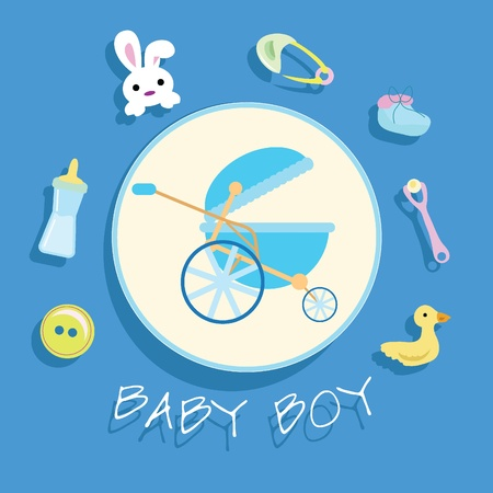 baby stuff for baby arrival, newborn, celebration and others Stock Photo - 13229569