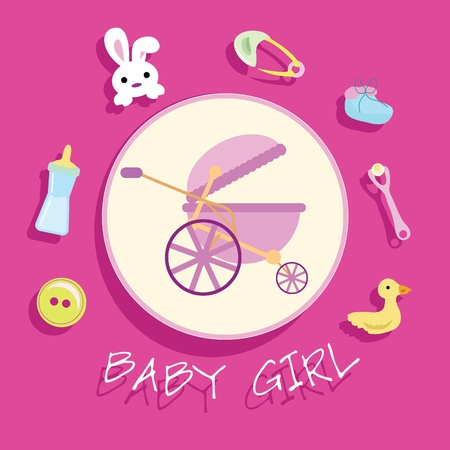 baby stuff for baby arrival, newborn, celebration and others Stock Photo - 13229570