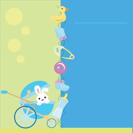 baby stuff for baby arrival, newborn, celebration and others Stock Photo - 13229549