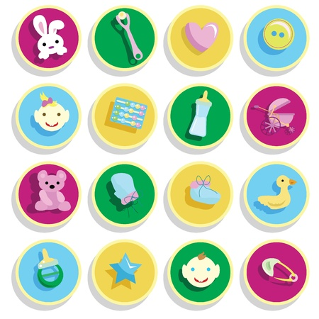 baby stuff for baby arrival, newborn, celebration and others Stock Photo - 13229594