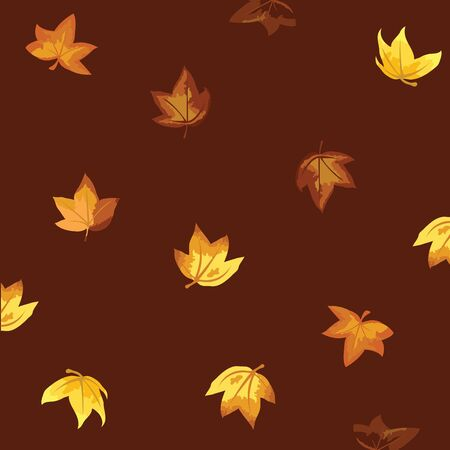 autumn leaves background for seasons and themes design photo