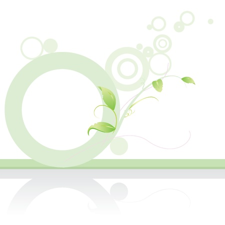 green banner background for website template, background, designs and others Vector