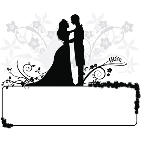 bride groom: wedding couple  silhouettes for wedding, occasions, celebrations and others