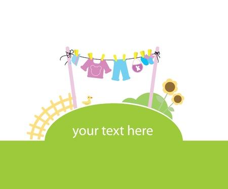 bébé fond comme d'invitation, cartes, bannières et autres
