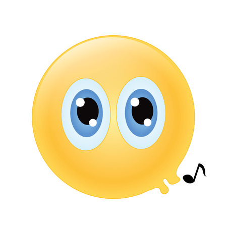whistling: emoticon whistling