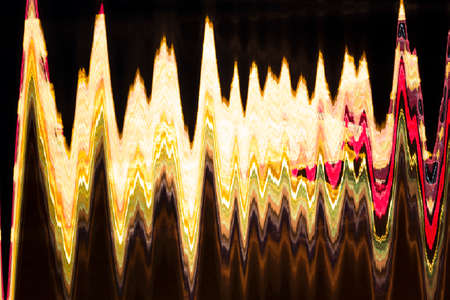 Abstract colored lights in motion Stock Photo - 25152618