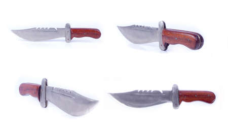 saber: Knifes, broadsword And Saber Set Stock Photo