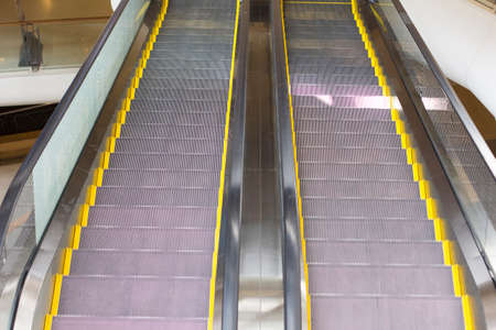 Empty escalator stairs in the Mall photo