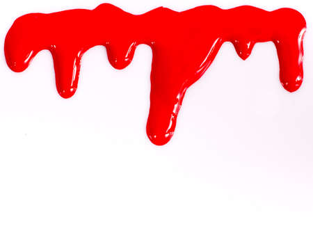 halloween concept: Halloween concept : Blood dripping