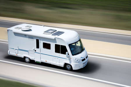 motorhome: travel Stock Photo