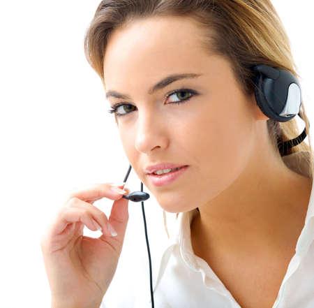 telemarketing Stock Photo