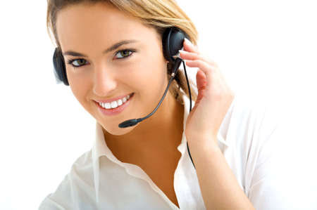 young customer service Stock Photo - 5505897