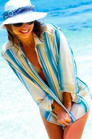 on the beach photo