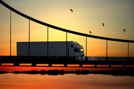 transporte de mercancia: COUCHANT soleil