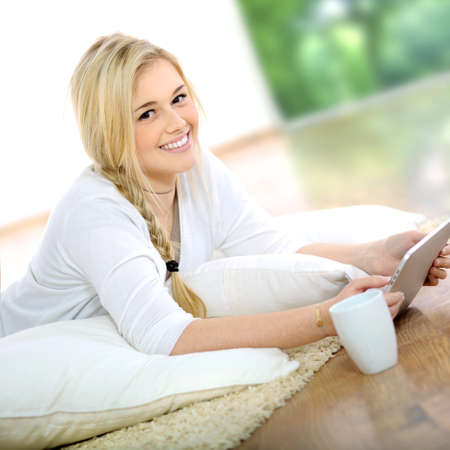 portrait of blond girl Stock Photo - 8860399