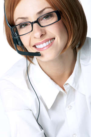 young woman operator