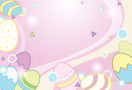 easter colorful greeting card background