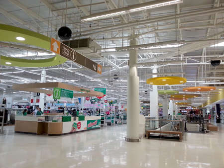 hypermarket, Tesco Lotus in Thailand Editorial