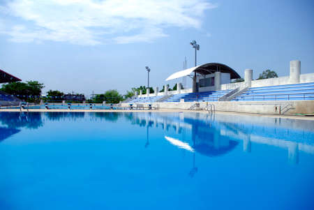 summer olympics: Olympic standard Swimming and diving Pool