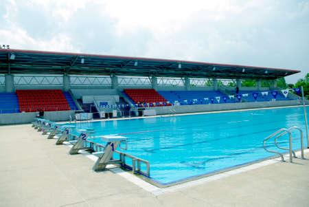 Olympische norm voor zwemmen en duiken Pool