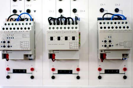 전기 보드 시스템, KNX 및 홈 오토메이션 스톡 콘텐츠