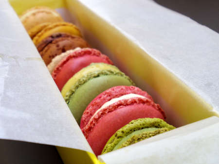 coloful: macaron coloful food Stock Photo