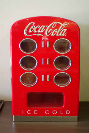 coca cola vintage fridge