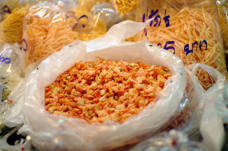 dried shrimp, Asian food ingredient photo
