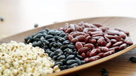 red on black: beans red black and jobs tear multigrain protien food