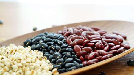 protien: beans red black and jobs tear multigrain protien food