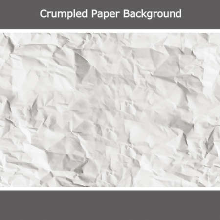 Crumpled Paper Background Stock Vector - 19899258