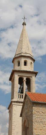 church steeple: Campanile della Chiesa con Croce