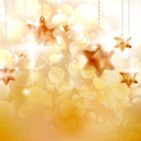 Christmas stars design template. EPS10 Illustration