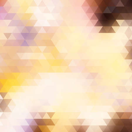 rumpled: Light vector abstract polygonal background. Illustration