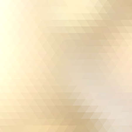 Abstract Yellow Triangle Geometrical Background.