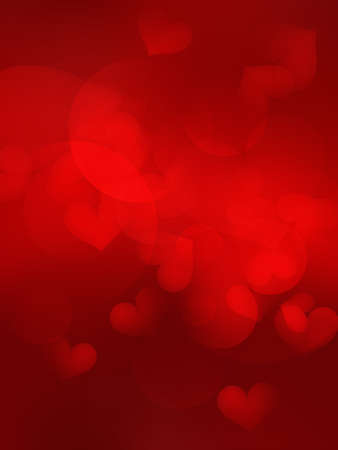 Valentine's day background with hearts. EPS10 Imagens - 29068784