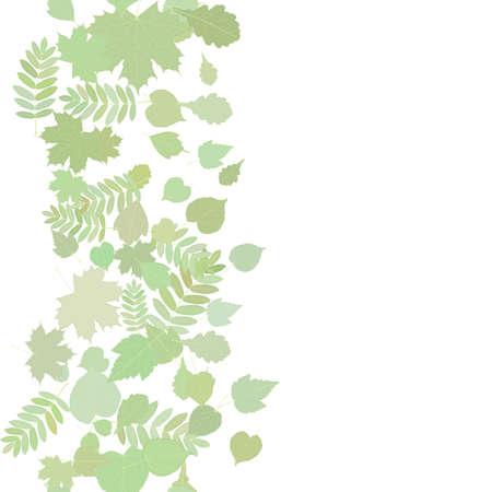 hojas de colores: Oto�o de fondo con hojas de colores Vectores