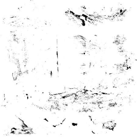 Set of grunge textures Black and white scratches abstract background  EPS10