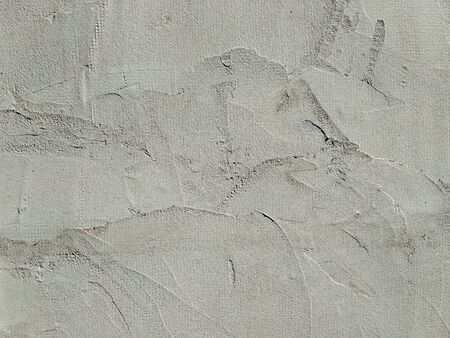 Gray background, grunge concrete wall. Rough scabrous texture. Dirty painted wall. Acrylic paint pattern on card in modern style. Scratched surface. Cement texture.
