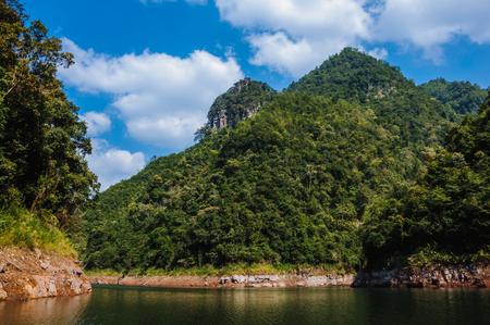Reservoir scenery