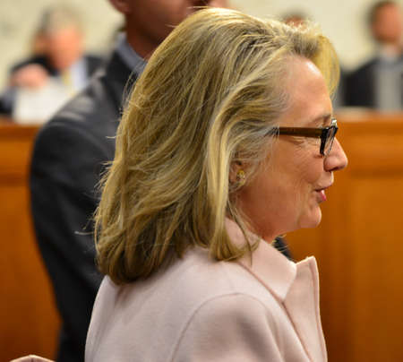 Hillary Clinton Testifies On Capitol Hill Editorial