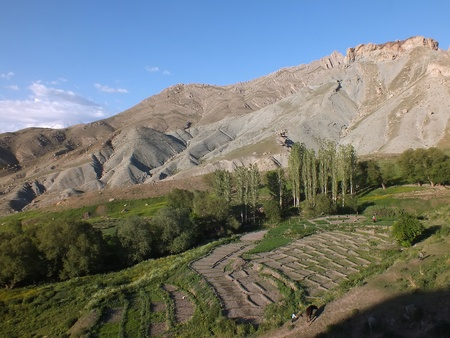 impoverished: Near Dogubeyazit is a mainly Kurdish area of impoverished rural farms on a high altitude.