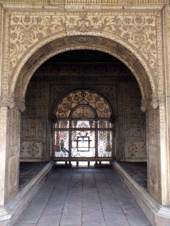 mughal: The Khas-Mahal, in Delhi Stock Photo
