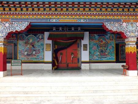 darjeeling: The Karygupa sect Druk Sa-Ngag Choeling Monastery in Darjeeling was ingaurated in 1992