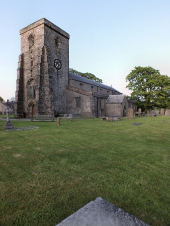 perpendicular: Dating from about 1450 the parish church of St Andrew in Slaidburn was built in the Perpendicular style