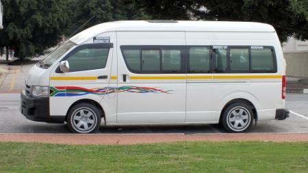 mini bus: Mini bus in South Africa.