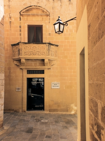 housed: The Gozo Museum of Archaeology is housed in a 17th century building that was originally Gozo's Town Hall  Stock Photo